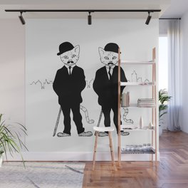 Thomson and Thompson Wall Mural