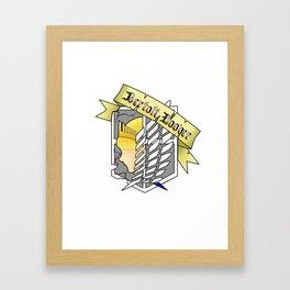 Bertolt Framed Art Print