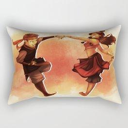 Kataango Fire Rectangular Pillow