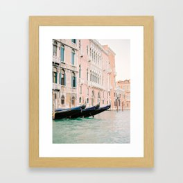 venice canals Framed Art Print