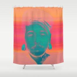 Viktor Belmont Shower Curtain