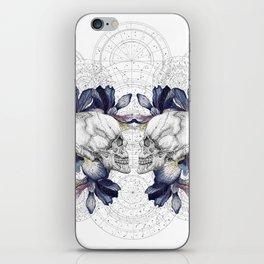 SKULLS & IRIS iPhone Skin