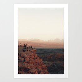 Desert dreams. Art Print