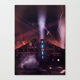 Andover Esate, Blade Runner Style Canvas Print