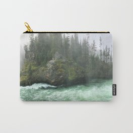 Yellowstone Falls Fog Carry-All Pouch
