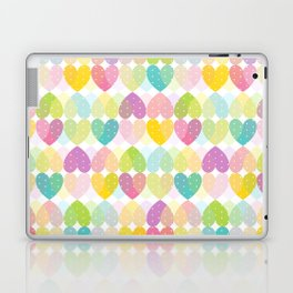 Colorful Sweet Candy Heart Pattern I Laptop & iPad Skin