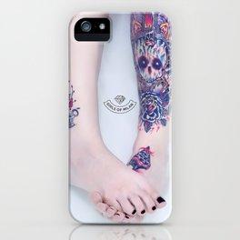 Girls of Milan #01 iPhone Case