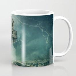 Flying ghost house Coffee Mug