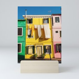 Beautiful Burano Italy Mini Art Print