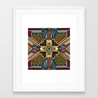 persian Framed Art Prints featuring Persian by Guanabana