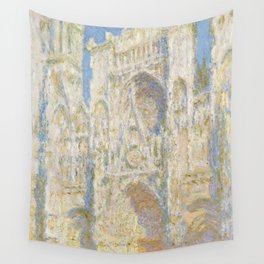 Rouen Cathedral, West Façade, Sunlight Wall Tapestry