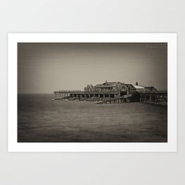 The Old Pier Art Print