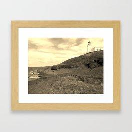 Arecibo Lighthouse Framed Art Print