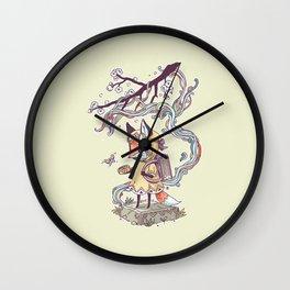 Little Explorer Wall Clock