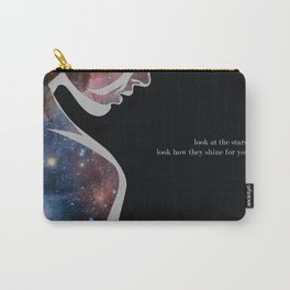 Look At The Stars Carry-All Pouch