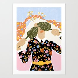 I Can't See You Art Print
