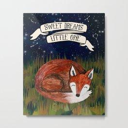 Sweet Dreams, Little One Metal Print