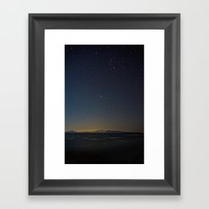 And the Stars to Rule the Night Framed Art Print