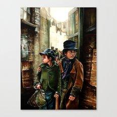 Oliver Canvas Print