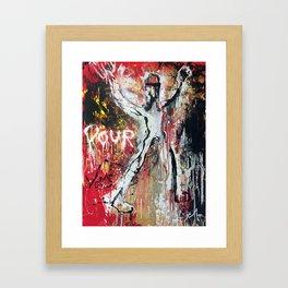 Pour Vous Framed Art Print