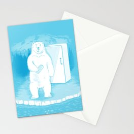 Save the polar bears, make more ice cubes. Stationery Cards