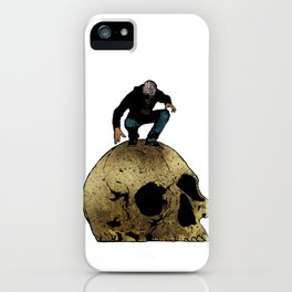 Leroy And The Giant's Giant Skull iPhone Case