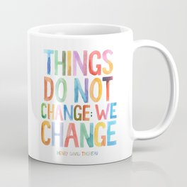 We Change Coffee Mug