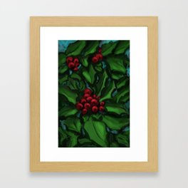 Holly DP160229a Framed Art Print
