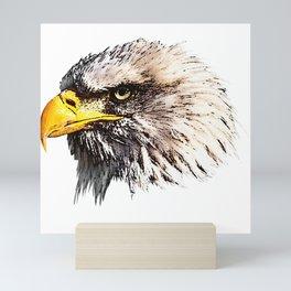 Bald Eagle, bird, bird friend Mini Art Print