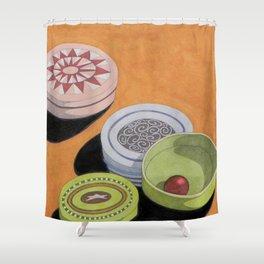 Small bowls n. 4 Shower Curtain