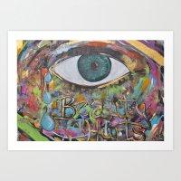 Beauty Hurts  Art Print