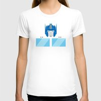 optimus prime T-shirts featuring Optimus Prime by IlPizza