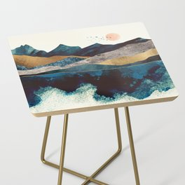 Blue Mountain Reflection Side Table