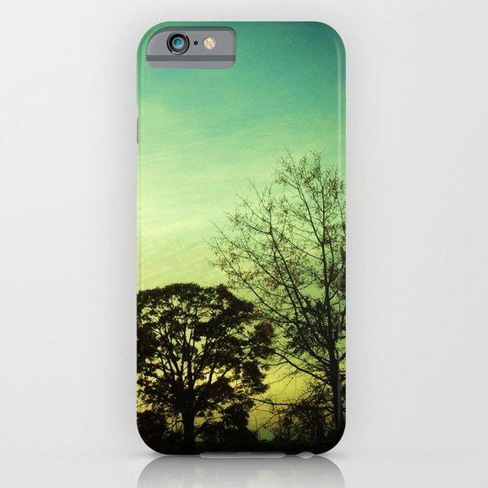 Orange Green Blue Sky iPhone & iPod Case