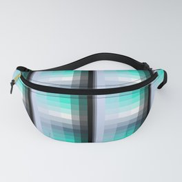 Water Windows Square Fanny Pack
