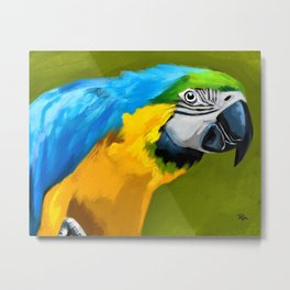 Molly Macaw Metal Print