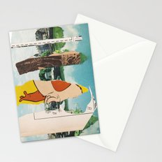 the triumph of wit over suffering Stationery Cards