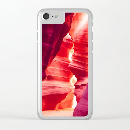 Antelope Canyon, Arizona Clear iPhone Case