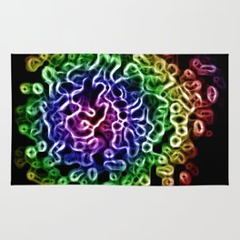 Rainbow Cells Rug