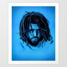 J. Cole Art Print