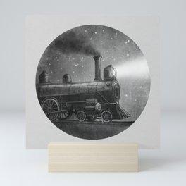 Night Train Mini Art Print