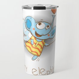 Fairy elephant. Travel Mug