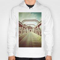 bridge Hoodies featuring Bridge by César Ovalle