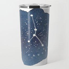 cancer constellation zodiac Travel Mug