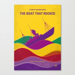 No961 My The boat that rocked minimal movie poster Canvas Print