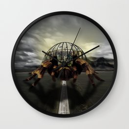 Spider City Wall Clock