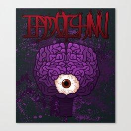 Brainy Canvas Print