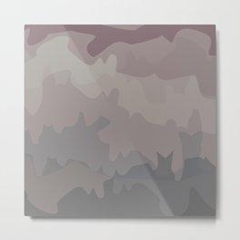 Horizon Camo Metal Print