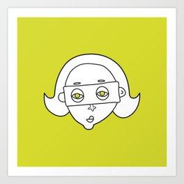 faces 03 Art Print