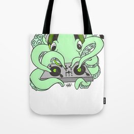 CHTULU DJ (alternate color Scheme) Tote Bag